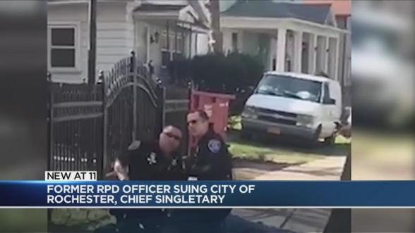 Officer involved in police brutality case suing the city, RPD Chief    WHEC.com