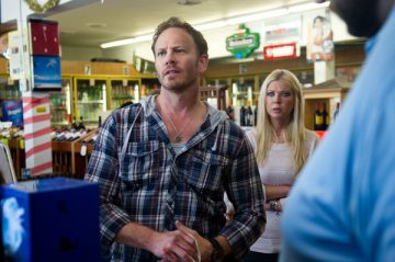 "Syfy Original Movie ""Sharknado""-- Pictured: -- Ian Ziering; Tara Reid (Photo by: Syfy)"
