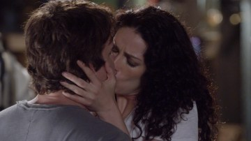 The moment that split the Warehouse 13 fandom during the series finale. Photo Credit: SyFy