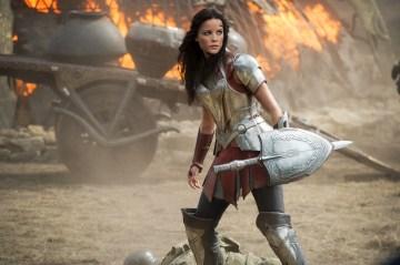 """Marvel's Thor: The Dark World""..Sif (Jaimie Alexander)..Ph: Jay Maidment..© 2013 MVLFFLLC. TM & © 2013 Marvel. All Rights Reserved."