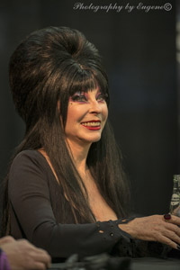 Elvira aka Cassandra Peterson - ScareLA 2016