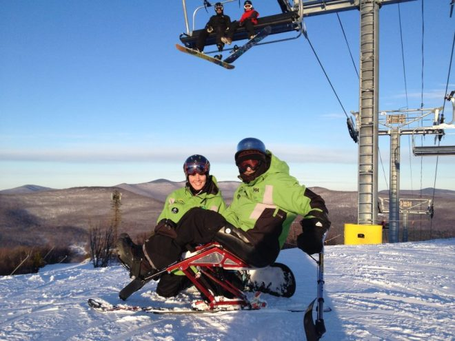 Sit Skiing is a fantastic winter past-time that lets you enjoy the great outdoors!