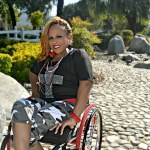 Paraplegic Kebra Moore Does It All: Singing, Modeling, Public Speaking & Raising a Family