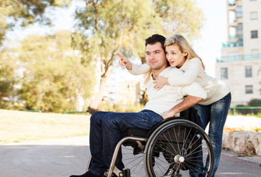 Dating a person in a wheelchair
