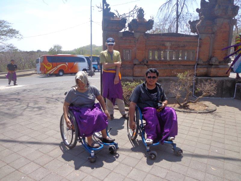 wheelchair hire bali high office chairs nz accessibleindonesia making travel accessible in a non indonesian accessibility laws and getting around
