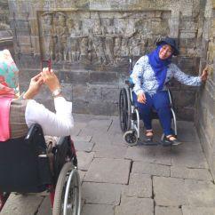 Wheelchair Hire Bali Hanging Chair Rattan Accessibleindonesia Making Travel Accessible In A Non Yogya Borobudur Ai