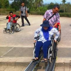 Wheelchair Hire Bali Turquoise Blue Chair Sashes Accessibleindonesia Making Travel Accessible In A Non Yogyakarta Ai