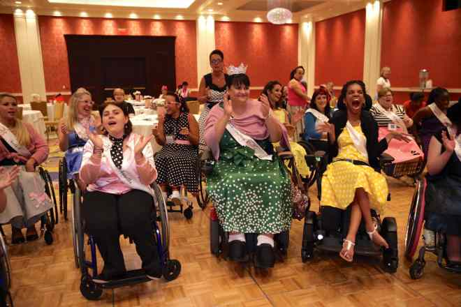 Ms. Wheelchair America contestants
