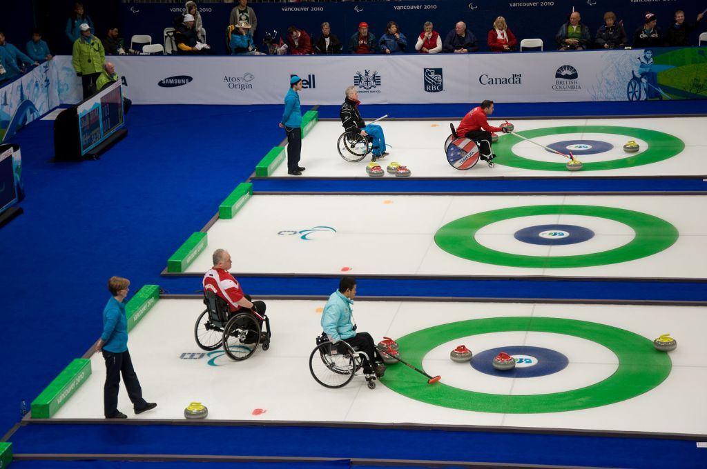 wheelAIR - winter paralympic sports for wheelchair users curling