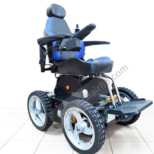 x8 wheelchair big and tall office chair 500 lbs capacity pw-4x4q stair climbing - wheelchair88 ltd