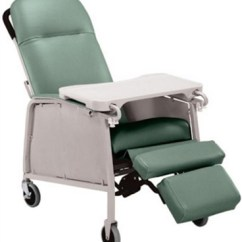 Hospital Sleeper Chair Lower Back Pain Lumex 3-position Geriatric Recliner 574g - Geri