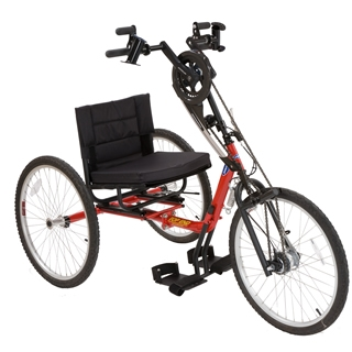 hospital sleeper chair knoll chadwick invacare top end excelerator custom handcycle - handcycles on sale