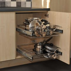Kitchen Base Cabinet Pull Outs Stainless Steel Cart Disabled Adapted By A Wheelchair User