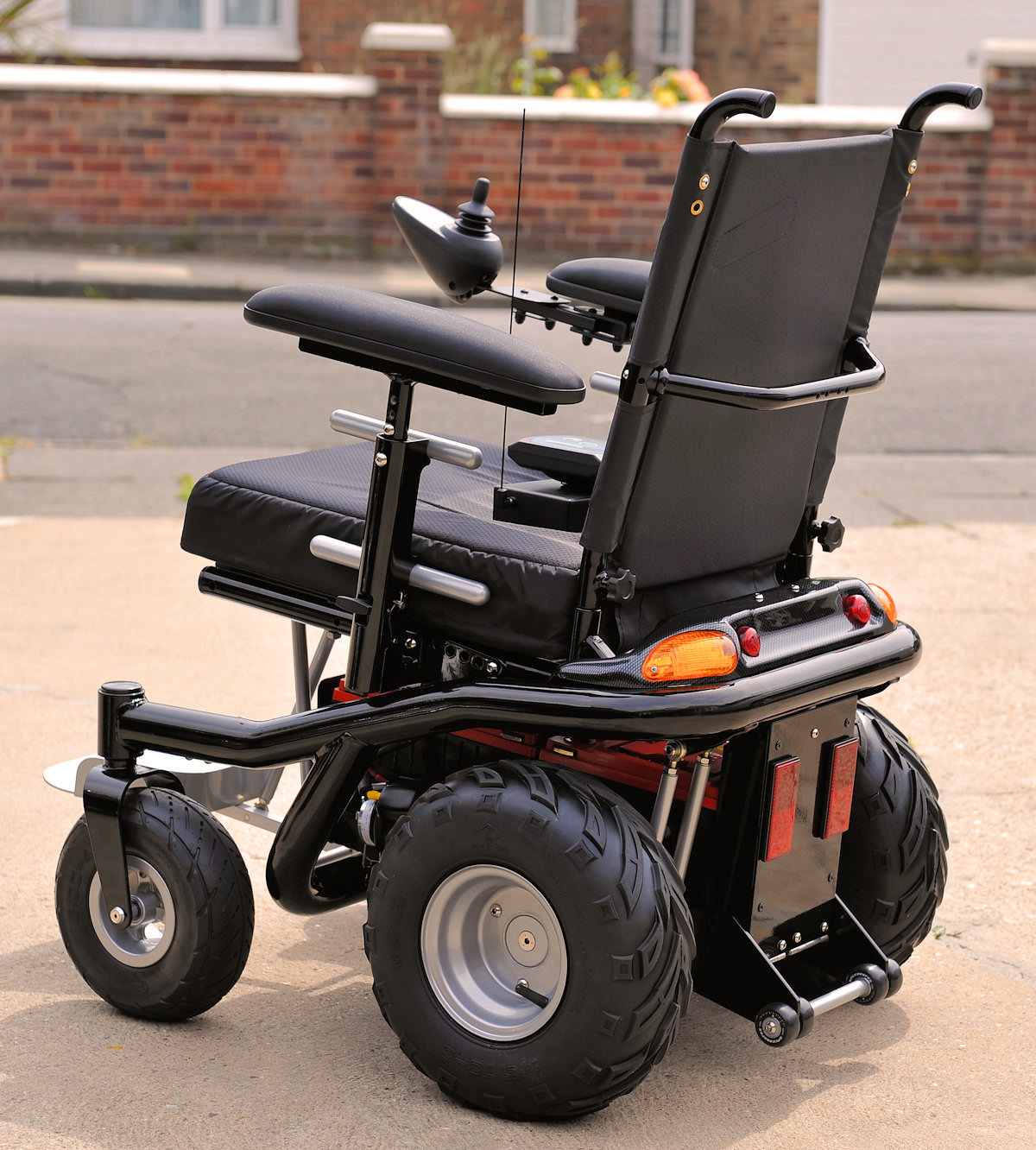 electric wheel chairs blue high back chair my ultimate quotdo everything well quot power wheelchair