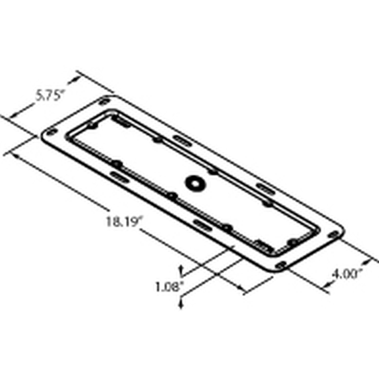 Cargo Bed Golf Cart Brackets
