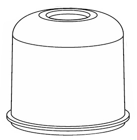 Cover,Filter DVC233000