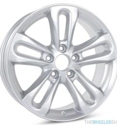 new 17 x 7 replacement wheel for honda civic 2006 2007 2008 rim 63901 [ 2048 x 2048 Pixel ]