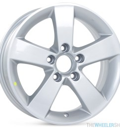 new 16 x 6 5 replacement wheel for honda civic 2006 2007 2008 2009 2010 2011 rim 63899 [ 2048 x 2048 Pixel ]