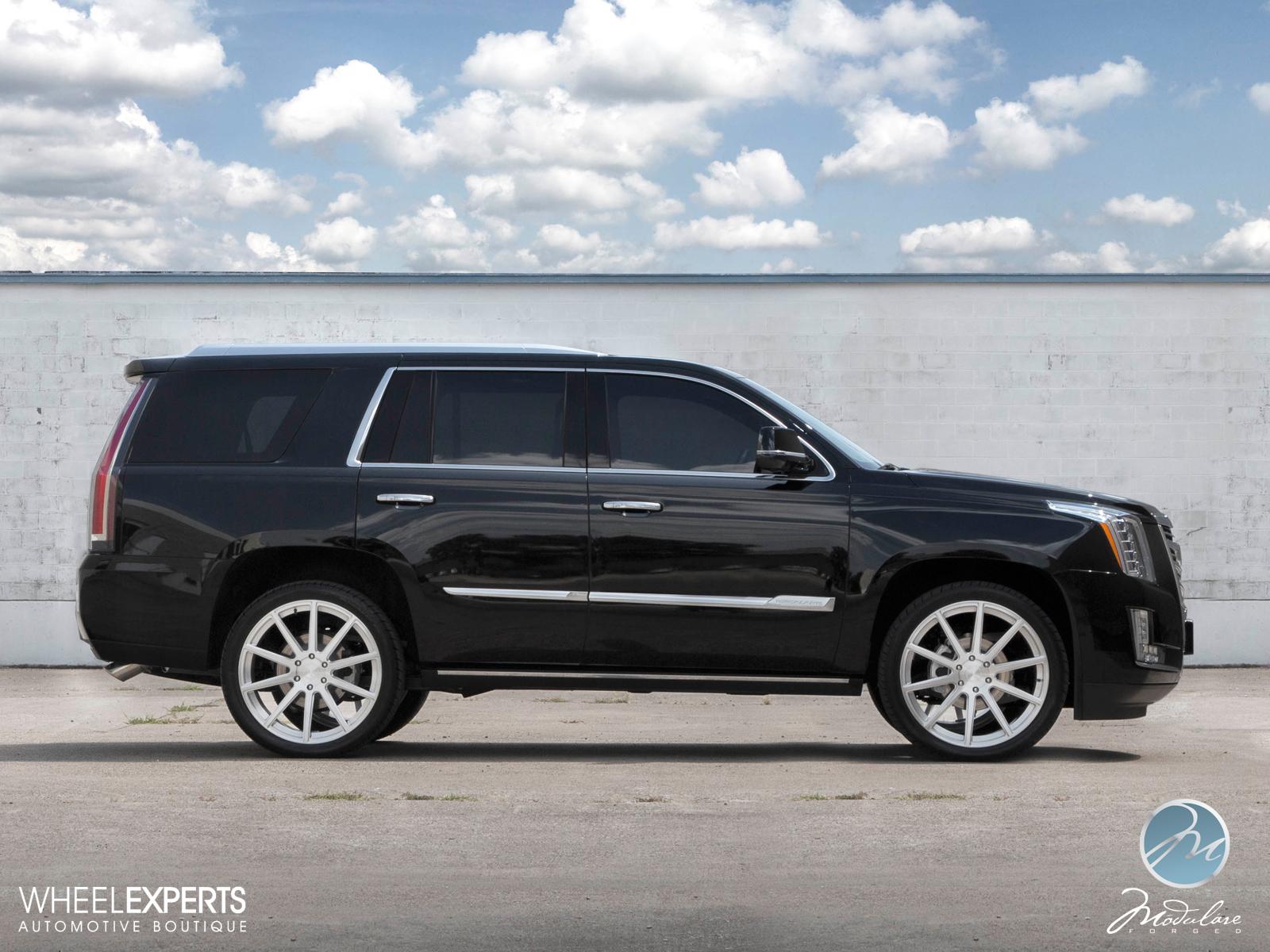 Modulare Wheels 2015 Cadillac Escalade 24 Modulare