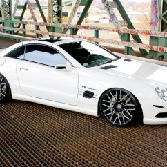 Mercedes Benz Wiring Diagrams Free Evacuation Plan Diagram Software Custom Rims The Sl 55 Amg With Lorenzo Wheels Lf897