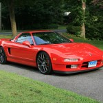 This Nsx T With Tsw Wheels Is A Honda Classic