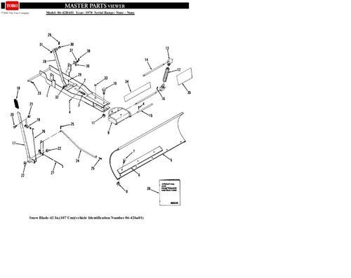 Blade Dozer 42in 1978 86-42BA01 Snow OM TIPL SN.pdf