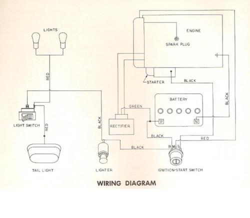 tractor wiring diagram alternator 2006 chrysler pacifica serpentine belt 1968 electro 12 d&a tpl sn.pdf - 1965-1972 redsquare wheel horse forum