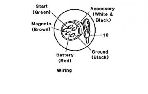 chopper wiring diagram single coil