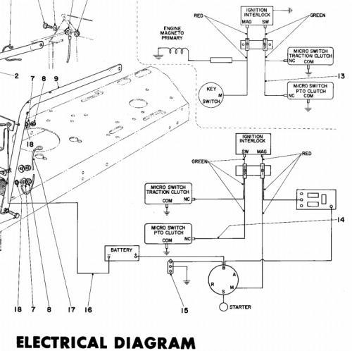 Tractor 1973 Toro 7hp Lawn tractor D&A IPL Wiring.pdf