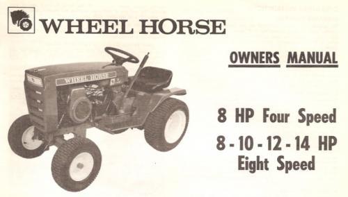 wheel horse 520h wiring diagram subaru impreza exhaust system service manual - bing images