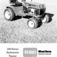 Toro Wheel Horse 520h Wiring Diagram Electric Garage Door Opener 267h : 31 Images - Diagrams | Billigfluege.co