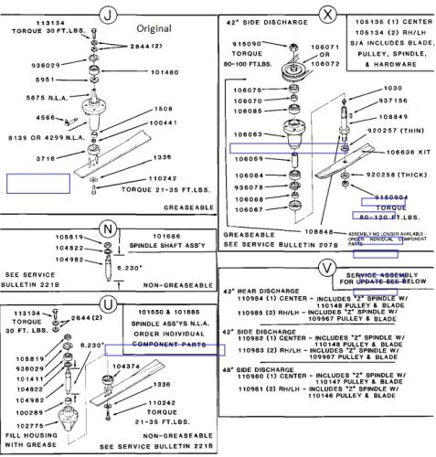 Mower Rotary 42in SD 1966-1967 RL-426 OM IPL DNA SN.pdf