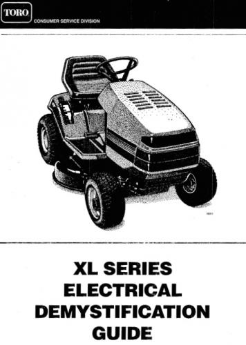 Tractor 1999 XL-Series Wiring Detailed #492-3301.pdf