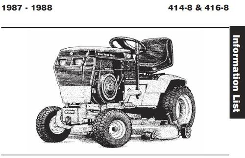 Wheel Horse 416 8 Wiring Diagram : 32 Wiring Diagram