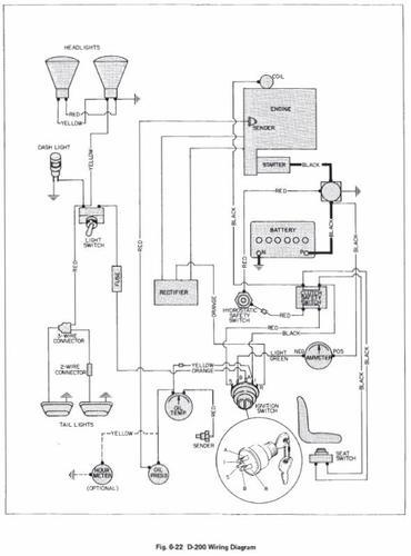 Tractor 1979 B, C & D-Series Auto SM Wiring #810063R1.pdf