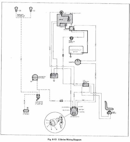 Tractor 1979 B, C & D-Series SM Wiring #810063R1.pdf