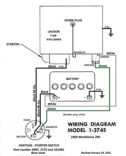 Tractor 1969 WorkHorse 700 D&A OM IPL Wiring Rev SN.pdf