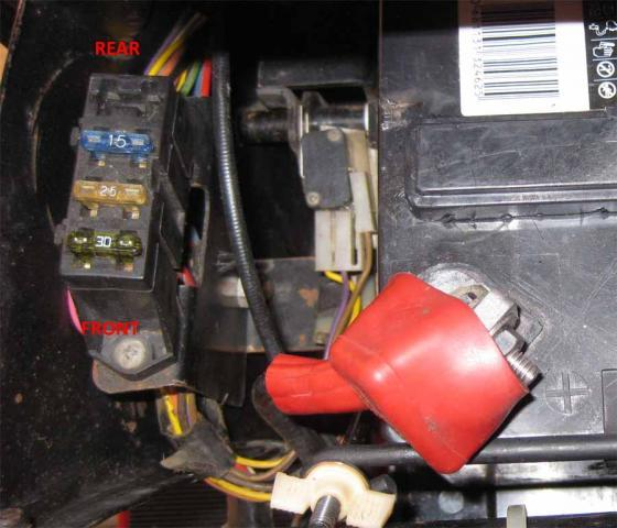 wheel horse 520h wiring diagram bodine b90 emergency ballast 520 fuse block - electrical redsquare forum