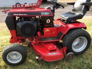 Snagged a 520H  Wheel Horse Tractors  RedSquare Wheel