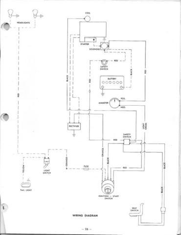 Wheel Horse Pto Diagram Simplicity PTO Diagram wiring