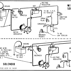 12 Volt Delco Alternator Wiring Diagram Ford F350 Trailer I Just Picked Up A 2011 F 350 Drw And Have To Put The How Test Starter/generator ? - Wheel Horse Electrical Redsquare Forum