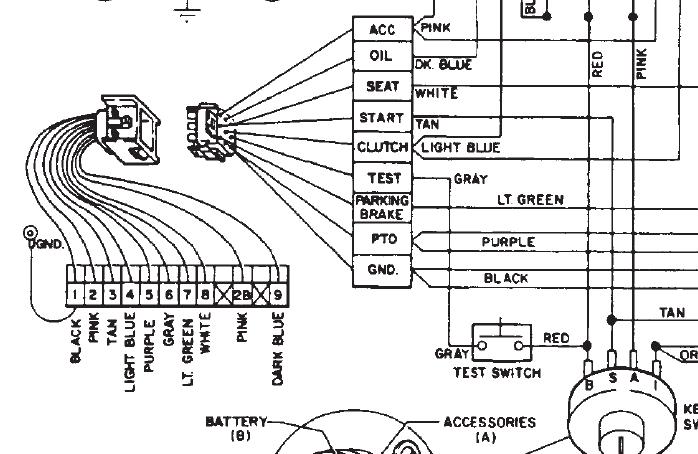 314-8 test switch not matching any schematics help