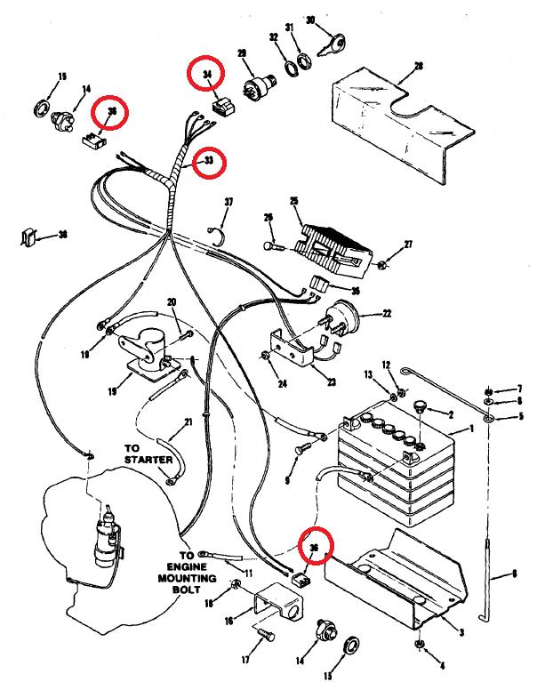 4020 12 Volt Alternator Wiring Diagram
