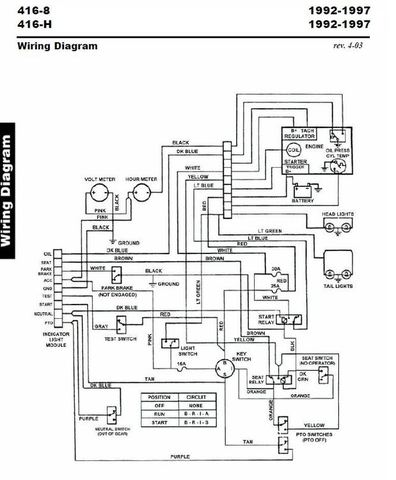 1986 Wheel Horse 312 Wiring Diagram Wheel Horse Tractor