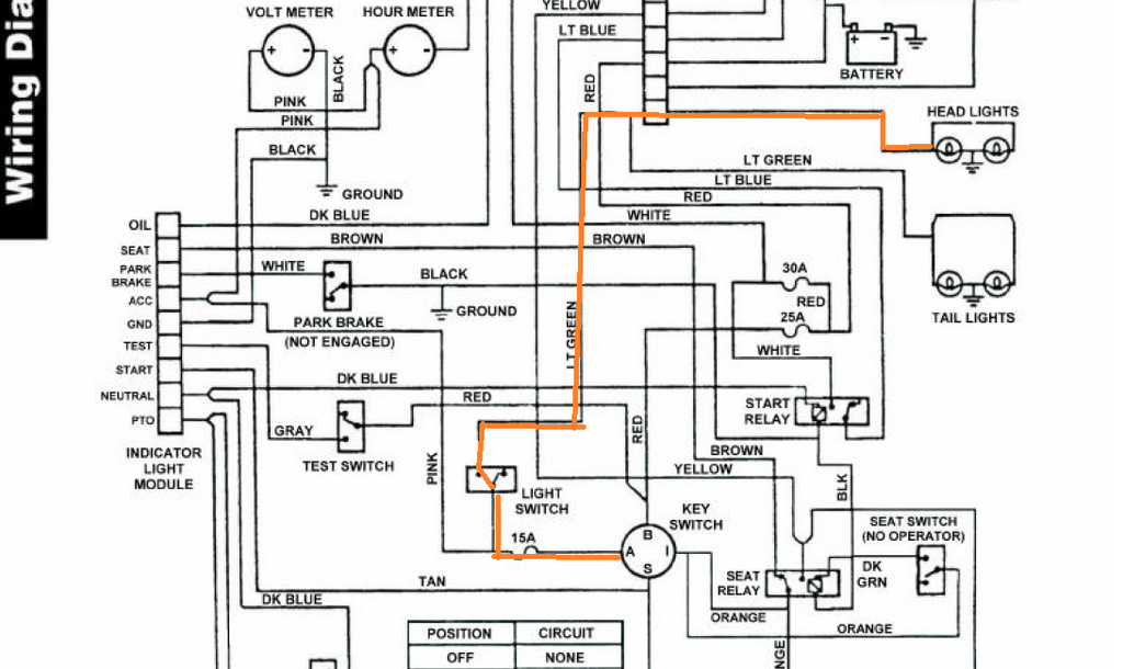 Ford Tractor 6610 Alternator Wiring Diagram
