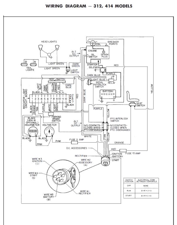 Cv15s Kohler Charging System Wiring Wiring Diagrams