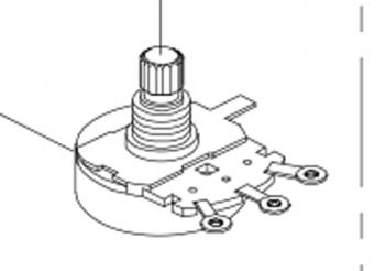 Speed Control Potentiometer Shoprider Altea Echo 3 TE-SL7