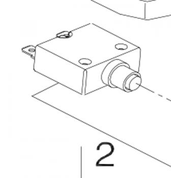 New Circuit Breaker for a Shoprider Altea Echo 3 TE-SL7-3