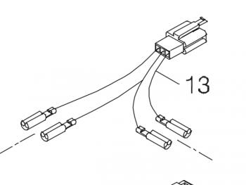 New Tiller Wire Harness Shoprider Cadiz Trailblazer 889SL
