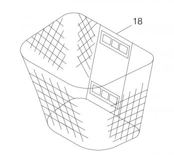 New Front Basket for a Shoprider Altea Echo 3 TE-SL7-3